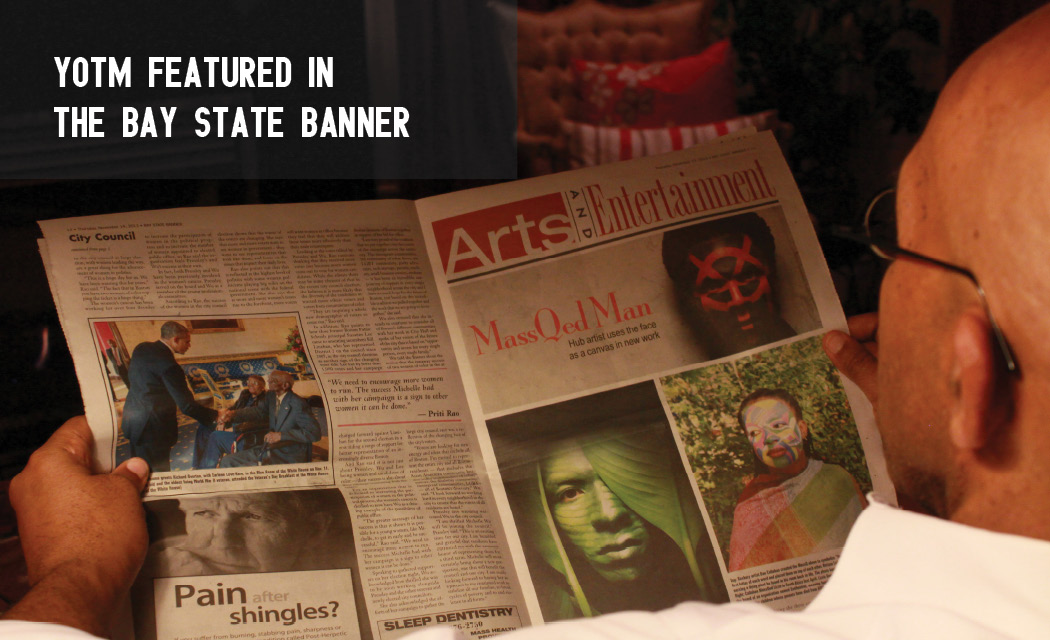 YOTM Featured in the Bay State Banner